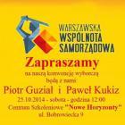 Konwencja wyborcza Warszawskiej Wspólnoty Samorządowej